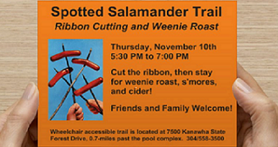 spotted_salamander_trail_resize_ribbon_cutting